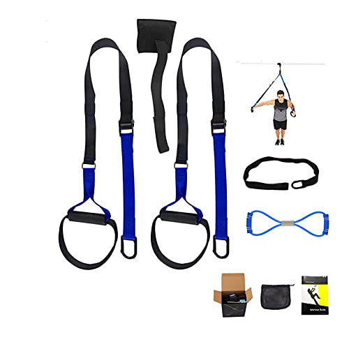 N/H Kit di Allenamento per sospensioni, Alldo Suspension Training Straps, Fitness Home Outdoor Workout Gym Equipment with Exercise Band 8-Shaped for Women Men