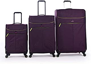 Magellan Trolly Luggage Set 3 PCs, 16-4812TC-3P-PURPLE