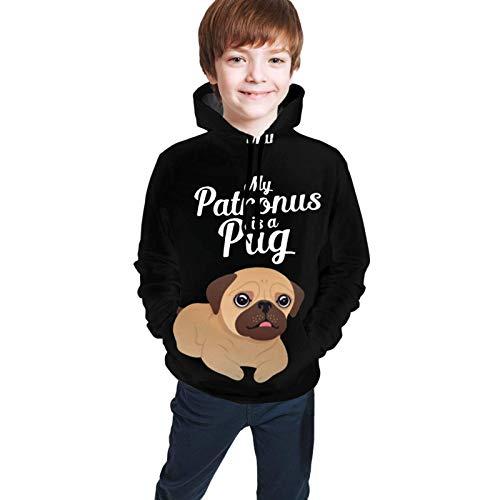 Jungen Kapuzenpullover Christmas Cartoon Wizard Pullover Teen Pullover Kapuzen-Sweatshirt mit Taschen Langarm