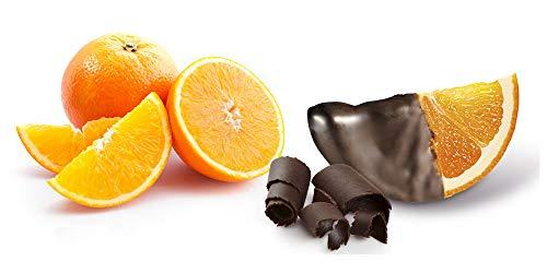 LAPASION - Gajos de naranja confitada con chocolate bolsa 1Kg (leticias).