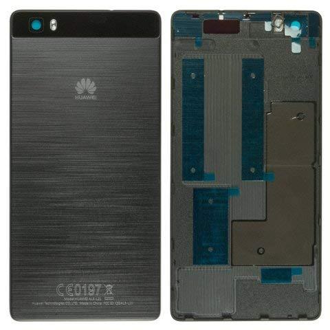 Tapa de batería / Carcasa trasera original para Huawei P8 Lite, color negro