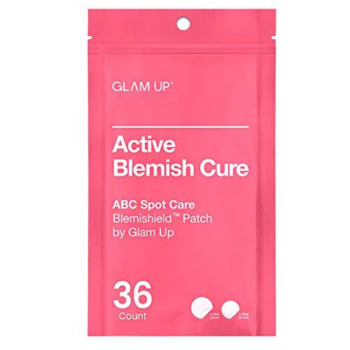 Blemishield Patch di Glam Up (36 cerotti) - cerotti per l acne, cerotti idrocolloidi per la cura delle imperfezioni, cerotti invisibili per il viso