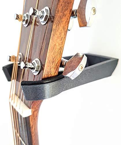 Soporte guitarra pared. Colgar guitarra acústica, eléctrica o española de la pared.