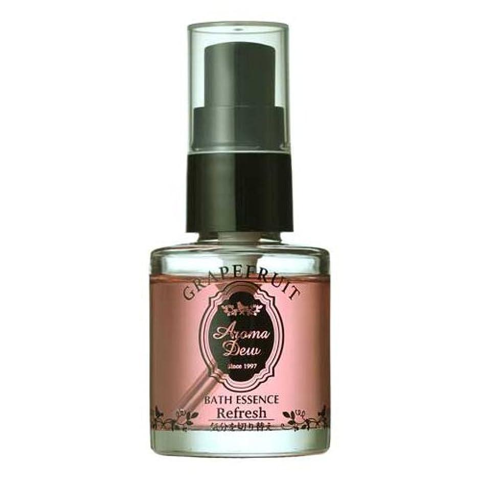 反逆敬の念一時解雇するアロマデュウ 香りのバスエッセンス グレープフルーツの香り 27ml