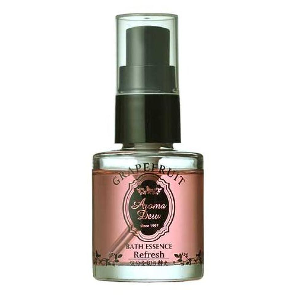 タオル交渉するジーンズアロマデュウ 香りのバスエッセンス グレープフルーツの香り 27ml