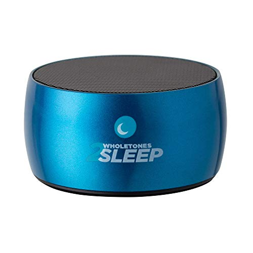 Wholetones 2Sleep (2nd Gen) - Portable Sleep Therapy Music Player with 6 Looping Frequency Enhanced Songs, Timer, Bluetooth, Rechargeable Battery