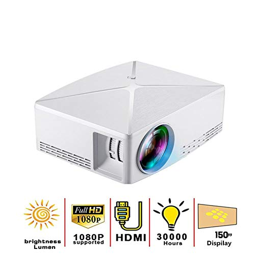 HD MINI Projector 2800 Lumens 1280X720p Video Projector LED Draagbare HD Beamer voor Game Movie Home Cinema