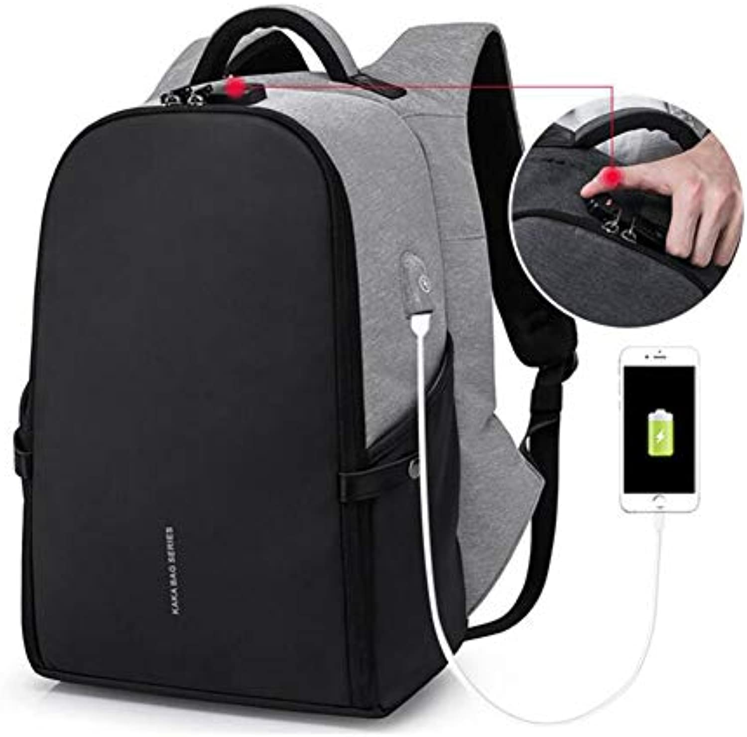 efa6ceaabc16 Anti Theft Backpack, Business Laptop Backpack with with with USB ...