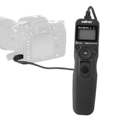 walimex - Disparador a Distancia con Temporizador Digital para Canon C3