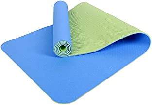 Eco Friendly Non Slip Fitness Exercise Yoga Mat Outdoor fitness yoga mat 6MM color