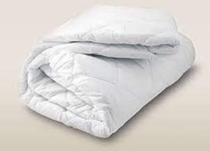 Comfy Mattress Protector Single Size 100X200cms - 2, White, Cotton