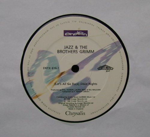 """Jazz & The Brothers Grimm - Just The Way You Like It - [12\""""]"""