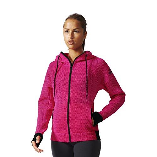 adidas Daybreaker Mesh - Sudadera para Mujer, Color Gris, Talla LL
