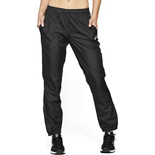 ASICS 2012A020 001 Woven Damen Sporthose, Performance schwarz, Größe: XL