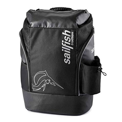 Sailfish Backpack Cape Town - Rucksack, Farbe:schwarz/Silber