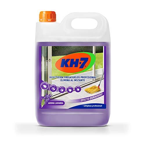 KH-7 Desic Insecticida Fregasuelos - Elimina y Protege tu Hogar Contra Todo Tipo de Insectos Rastreros Durante 15 días, Aroma Fresco a Lavanda - 5000ml