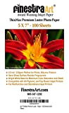 5x7 Finestra Art Premium Luster Inkjet Photo Paper - 100 Sheets 8.5mil