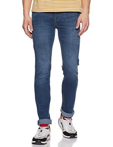 Flying Machine Men's Tapered Fit Jeans (8907538290403_FMJC0225_36W x 33L_Blue)