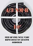 4/3 NM-B x 10' Non-Metallic Electrical Cable