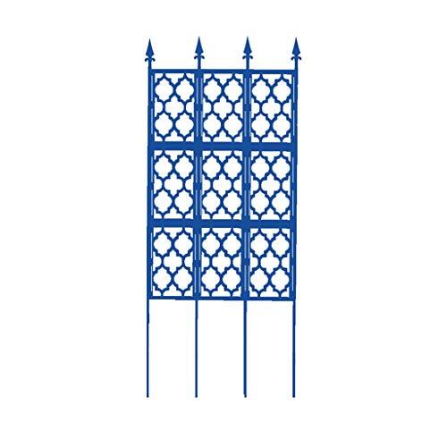BFSHY Enrejado de jardín Obelisco para Plantas trepadoras, Panel de Pared Exterior...