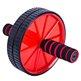 qianzhi Double Roues AB Abdominal Press Wheel Rollers Crossfit Gym Équipement...