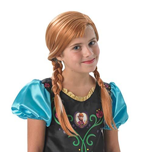 Rubie's-déguisement officiel - Disney- Accessoire Pour Déguisement Perruque Anna- I-36172