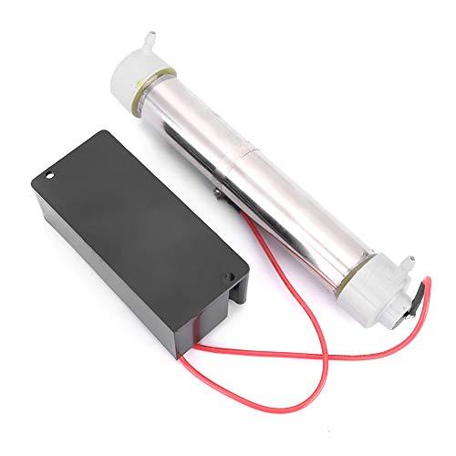 EVTSCAN Generador de ozono Portbale Equipo de purificación de Agua para Piscina Ozonizador de Tubo Purificador de Aire para el hogar Máquina esterilizadora