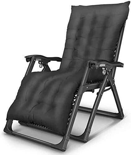 ZYLHC Al Aire Libre de Descanso de Cero Gravedad Silla reclinable Ajustable Plegable al Aire Libre Plegable reclinable reclinables Silla de Cubierta (Color : C)