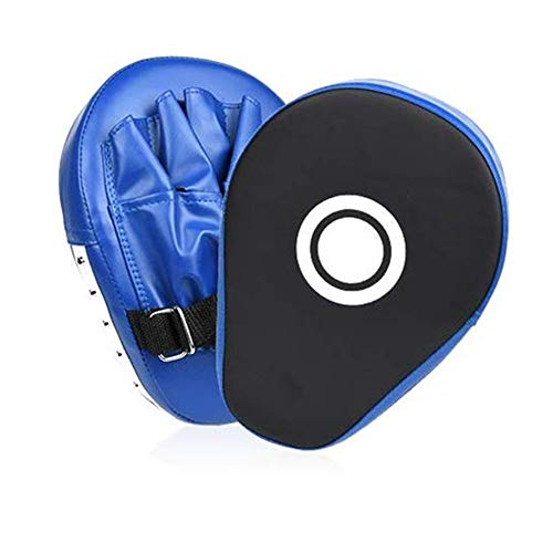GASAH Focus Mitts Hand Targets Curved Boxing Kick Pad Punching Mitts Boxing Mitts Focus Pad Box Training Strike Target Hand Pads Martial Arts Punching Shield 1Pair