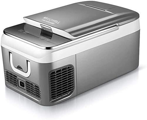 Hypowell 車載家庭両用 ポータブル冷蔵庫 2WAY電源対応 車載冷蔵庫 一人暮らし 18L 小型冷蔵庫 アウトドアや緊急時の車中泊にも活躍 ミニ冷蔵庫