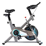 ANCHEER Bicicleta Estática de Spinning Bicicleta Interior Volante Inercia 10kg,Conexión con...