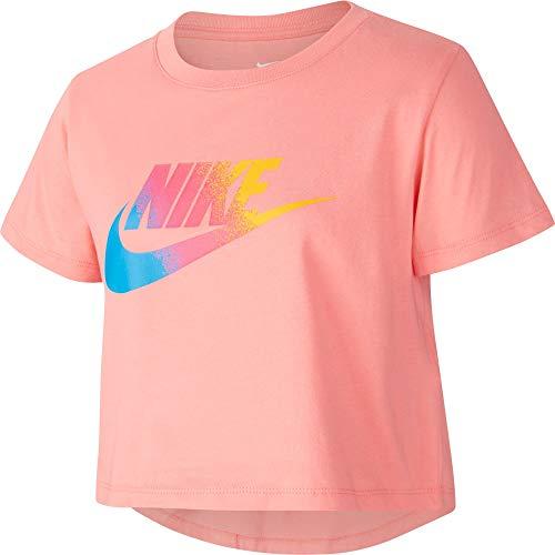 Nike Kinder NSW STMT Crop T-Shirt, Pink Gaze, L