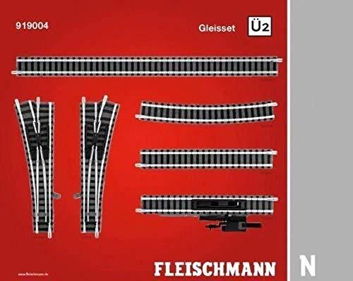 Fleischmann N Gleis-Set Überholgleis 2