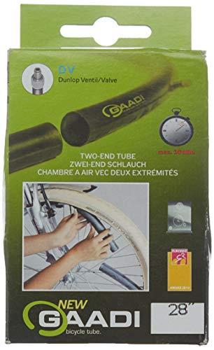 GAADI Fahrradschlauch Dunlop Ventil 40 mm, Schwarz, 28