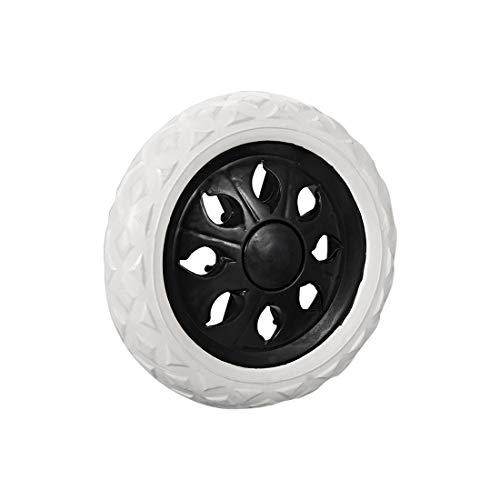 SHENYUAN Serie Industriale 1pcs 160 Millimetri / 6.3 Pollici del Diametro Carrello Ruote Trolley Caster Sostituzione della Gomma di schiumatura Nero