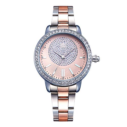 Sxfcool Fashion diamant-studded dames horloge is een goede herdenkingskeuze