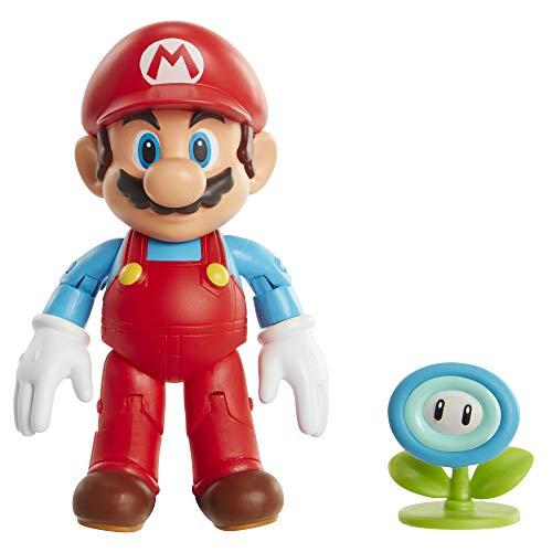 Nintendo - Jakks Super Mario - EIS-Mario mit Eisblume - 10 cm Figur - Wave 23 406804