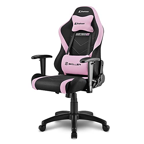 Sharkoon Skiller SGS2 Jr. Gaming Chair, Pink