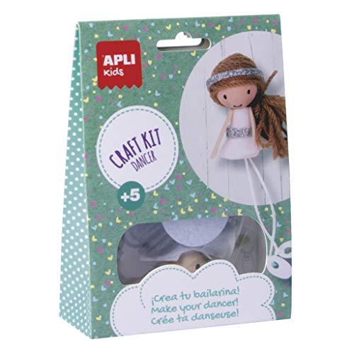 Apli kids 14085 Stwórz własną lalkę z baleriny, różne