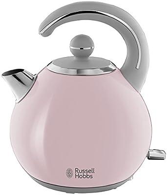 Russell Hobbs 24402-70 Bouilloire 1,5L Bubble, Ebullition Rapide, Design Ergonomique - Rose