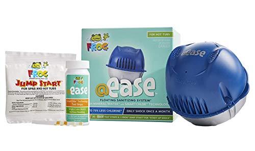 Frog @Ease Floating Sanitizing System for Hot Tubs...