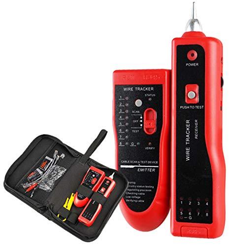 XXW Draht-Verfolger, Multi-Funktions-RJ45 RJ11-Telefonleitung Netz Tester Mit Taschenlampe Quick Line Finding Automatische Scan-Detektor