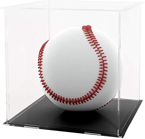 LANSCOERY Acryl Vitrine Selbstmontage Showcase Display case Schaukasten Boxen für Spielzeug Modell Sammlerstücke (30x30x30cm; 12x12x12 inch)