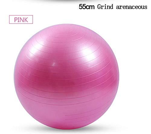 YSCYLY Sitzball Gymnastikball,25cm/55cm/65cm/75cm Workout Fitnessball,FüR Geburt RüCkbildung Beckenbodentraining & Fitness Anti-Burst