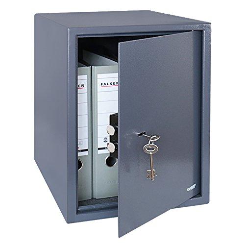 La serratura di sicurezza viene fornita con due chiavi a doppia mappa Ideale per un massimo di 4 raccoglitore di grandi dimensioni A4 Corpo in acciaio porta 4 mm di spessore del corpo 2 mm di spessore Fori per il fissaggio a parete o pavimento, cerni...