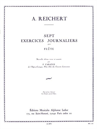 Matthieu André Reichert: Sept Exercices Journaliers Op.5 (