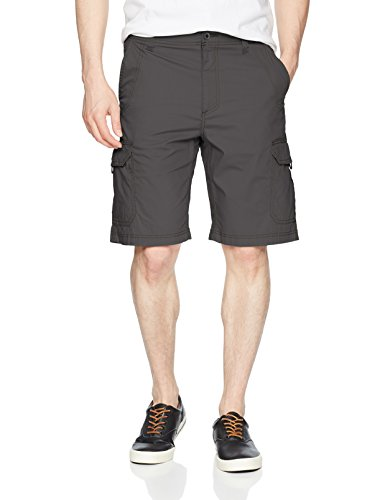 Lee Men's Extreme Motion Crossroad Cargo Short, Anthracite, 33