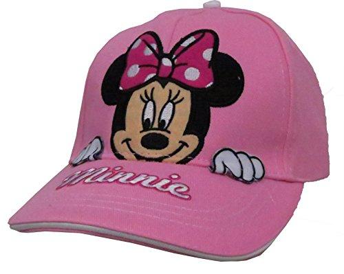 Disney Minnie Mouse Girls Peek A Boo Baseball Cap [2013] Light Pink