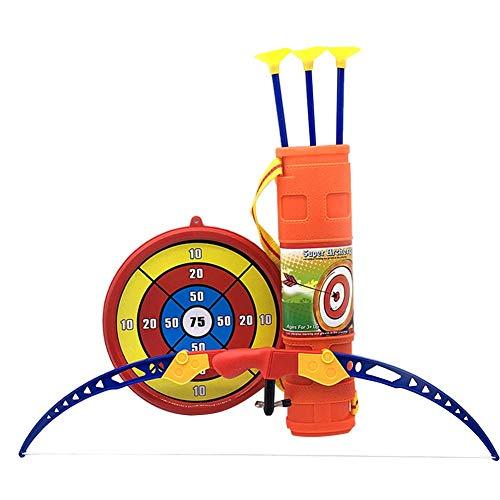 Per Tiros de Arcos con Flechas de Ventosa Juguetes Deportivos para Niños Set de Tiro de Arco Flechas y Dianas de Tiro