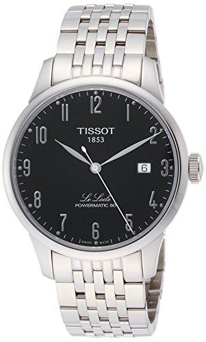 Tissot Herren-Uhren Analog Automatik, Gangreserve ca. 80 Std. One Size Edelstahl 87131874